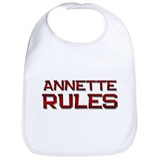 annette rules Bib