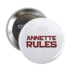 "annette rules 2.25"" Button"