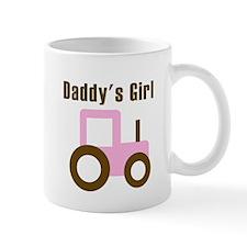 Daddy's Girl - Pink Tractor Small Mug