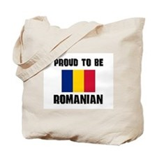 Proud To Be ROMANIAN Tote Bag