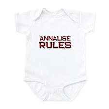 annalise rules Infant Bodysuit