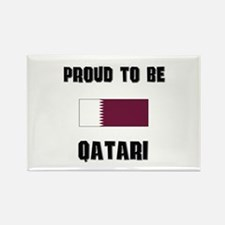 Proud To Be QATARI Rectangle Magnet