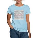 teachersayritalinmademebetter Women's Pink T-Shirt