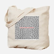 teachersayritalinmademebetter Tote Bag