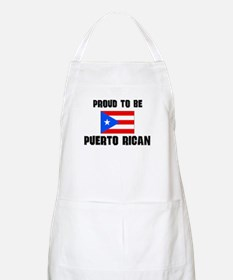 Proud To Be PUERTO RICAN BBQ Apron