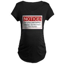 Notice / Grunts T-Shirt