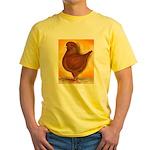Schietti Modena Pigeon Yellow T-Shirt