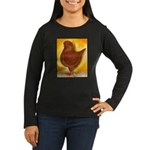 Schietti Modena Pigeon Women's Long Sleeve Dark T-