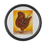 Schietti Modena Pigeon Large Wall Clock