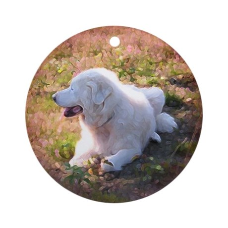 Great Pyrenees Ornament [Rd] Heatherfield