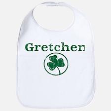 Gretchen shamrock Bib