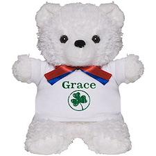 Grace shamrock Teddy Bear