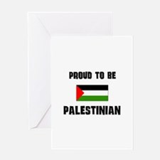 Proud To Be PALESTINIAN Greeting Card