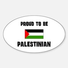 Proud To Be PALESTINIAN Oval Decal