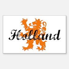 Holland Rectangle Decal