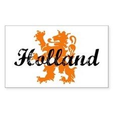 Holland Rectangle Sticker 10 pk)