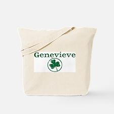 Genevieve shamrock Tote Bag