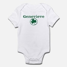 Genevieve shamrock Infant Bodysuit