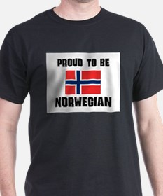 Proud To Be NORWEGIAN T-Shirt