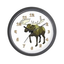 Moose Lake Wall Clock