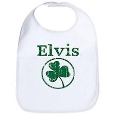 Elvis shamrock Bib