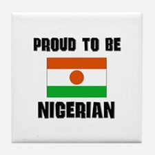 Proud To Be NIGERIAN Tile Coaster