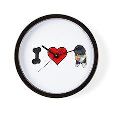 I Love Bo Wall Clock