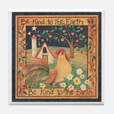 Country Kindness Tile Coaster