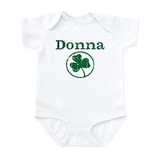 Donna shamrock Infant Bodysuit