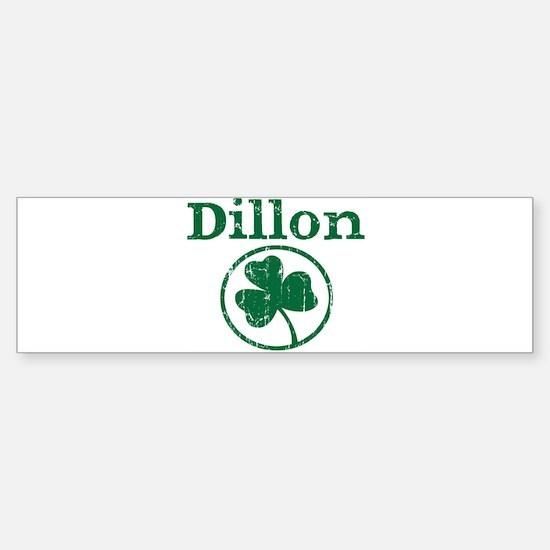 Dillon shamrock Bumper Bumper Bumper Sticker