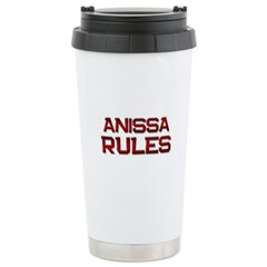 anissa rules Travel Mug