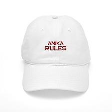 anika rules Baseball Cap