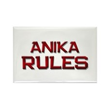anika rules Rectangle Magnet