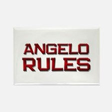 angelo rules Rectangle Magnet