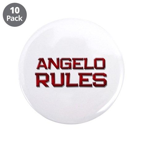"angelo rules 3.5"" Button (10 pack)"