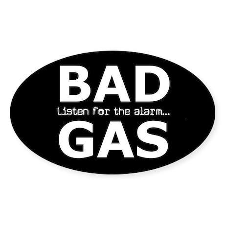BAD GAS Sticker