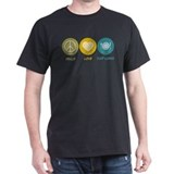 Food service Mens Classic Dark T-Shirts