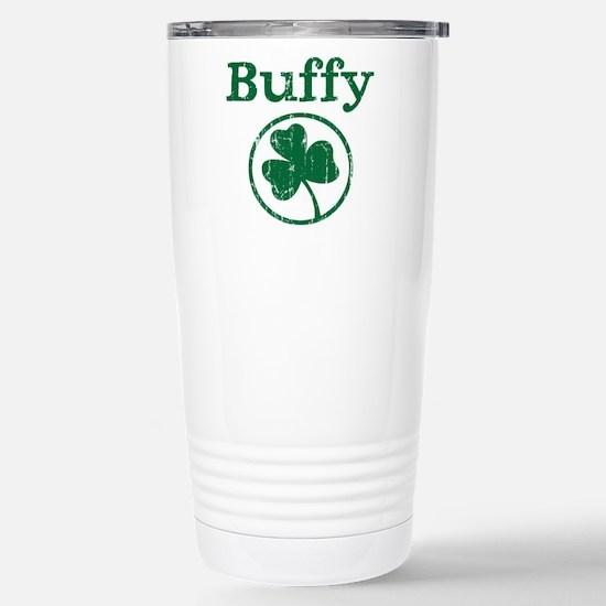 Buffy shamrock Stainless Steel Travel Mug
