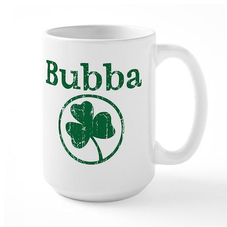Bubba shamrock Large Mug