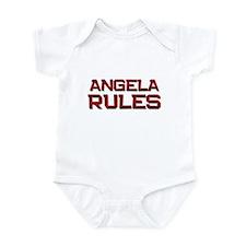 angela rules Infant Bodysuit
