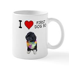 I Love First Dog Bo Mug