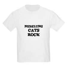NEBELUNG CATS ROCK Kids T-Shirt