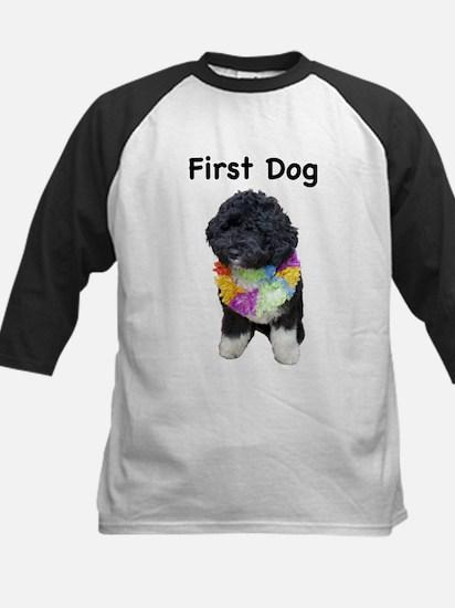 First Dog Bo Kids Baseball Jersey