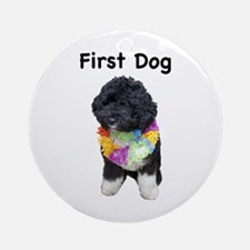 First Dog Bo Ornament (Round)
