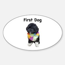 First Dog Bo Oval Decal