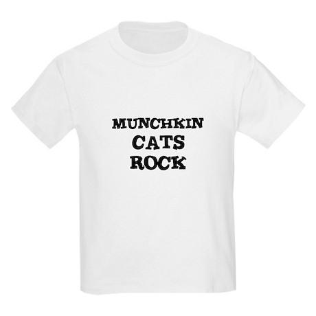 MUNCHKIN CATS ROCK Kids T-Shirt