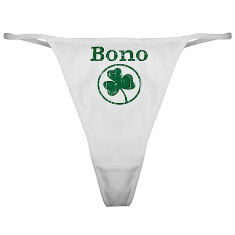 Bono shamrock Classic Thong