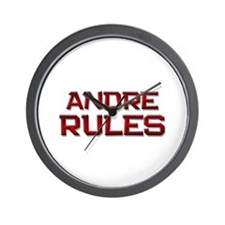 andre rules Wall Clock