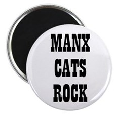 "MANX CATS ROCK 2.25"" Magnet (10 pack)"