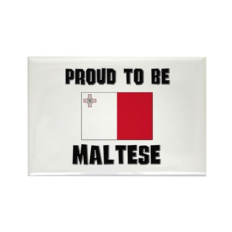 Proud To Be MALTESE Rectangle Magnet